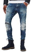 G Star Kamden Super Slim 5620 3D Zip-Knee Jeans