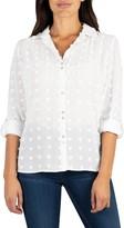 KUT from the Kloth Billa Clip Dot Button Front Shirt
