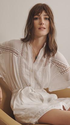 Frame Twisted Pleat Dress
