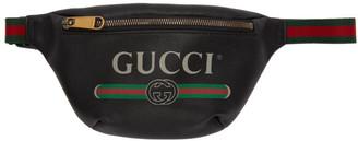 Gucci Black Small Logo Belt Bag