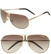 Carrera Women's Eyewear 'Gypsy' Metal Aviator Sunglasses - Gold