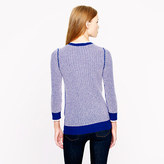 J.Crew Collection cashmere waffle sweater