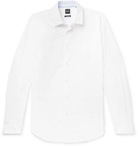 3bd39633 Hugo Boss Mens Linen Shirts - ShopStyle