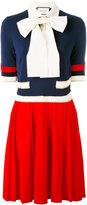 Gucci knitted web dress - women - Spandex/Elastane/Viscose - M
