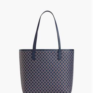 Talbots Printed Saffiano Tote Bag