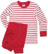 House of Fraser Polarn O. Pyret Kids stripe pyjamas