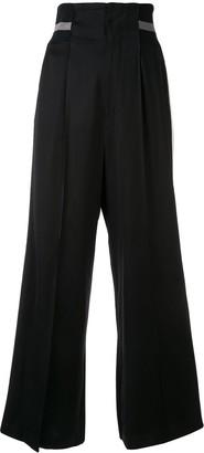 Ujoh Racer Stripe Trousers