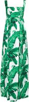 Dolce & Gabbana Banana leaf-print gown
