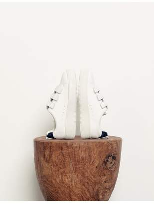 Sandro Leather Velcro Sneakers