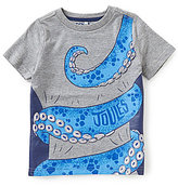 Joules Little Boys 3-4 Wild Side Short-Sleeve Graphic Tee