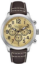 Nautica Goldtone Face Chronologic Watch