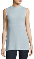 Eileen Fisher Sleek Sleeveless Mock-Neck Tunic, Petite
