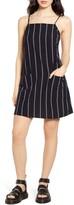 Billabong Stripe Cotton & Linen Blend Sundress