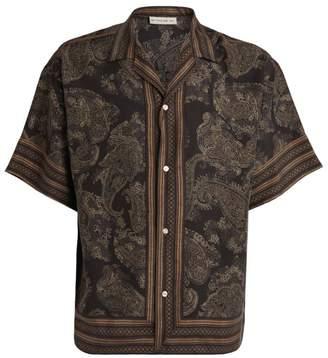 Etro Silk Paisley Casual Shirt