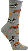 Hot Sox Women's Dachshunds Socks