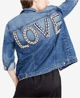 Rachel Roy Cotton Love Denim Jacket, Created for Macy's