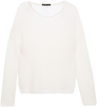 James Perse Wool And Cashmere-blend Sweater