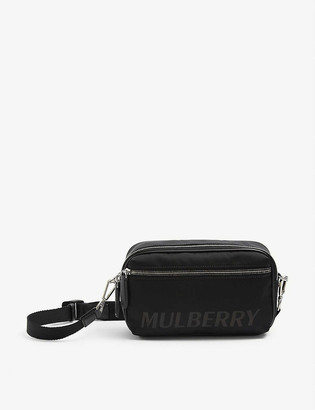 Mulberry Urban Reporter leather and nylon cross-body bag