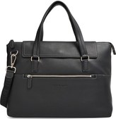 Salvatore Ferragamo 'Manhattan' Soft Leather Briefcase