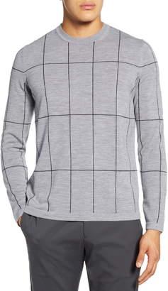 Theory Malio Regular Fit Crewneck Wool Sweater