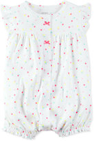 Carter's Dot-Print Rainbow Romper, Baby Girls (0-24 months)