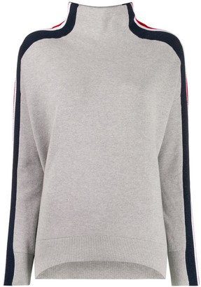 Tommy Hilfiger Striped Sleeve Jumper