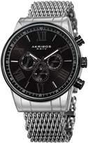 Akribos XXIV Men's Swiss Multifunction Watch, 45mm