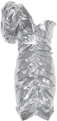 Isabel Marant Talma cotton metallic minidress
