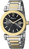 Salvatore Ferragamo Men's FP1960014 Salvatore Analog Display Quartz Two Tone Watch