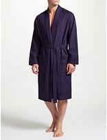 John Lewis Premium Ditsy Cotton Robe