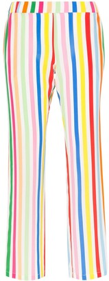 Mira Mikati Striped Silk Trousers