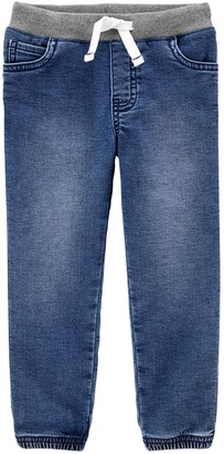 Carter's Toddler Boy Pull-On Knit Denim Pants