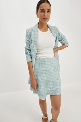 SABA Elisa Tweed Mini Skirt