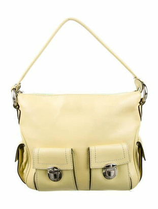 Marc Jacobs Leather Shoulder Bag Yellow