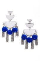 Rebecca Minkoff Women's Triple Tier Chandelier Earrings