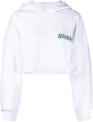 Misbhv Ibiza cropped hoodie