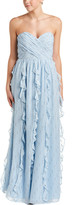 Shoshanna Silk-Blend Gown