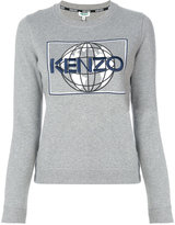 Kenzo graphic crew neck jumper - women - Cotton/Polyester - S