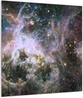Art.com Star Formation in the Tarantula Nebula Metal Print - 41x41 cm