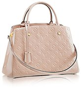 Louis Vuitton Montaigne MM Monogram Vernis Leather Handbag Article: M50169 Made in France
