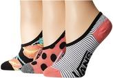 Vans Happy Dance Canoodles 3-Pack Women's Crew Cut Socks Shoes