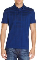 BOSS Press Check Regular Fit Polo Shirt