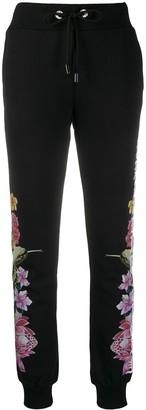 Philipp Plein Flower Print Track Pants