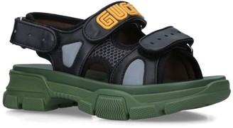 Gucci Kids Aguru Trek Sandals