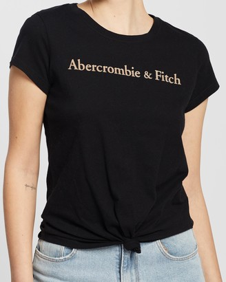 Abercrombie & Fitch SS Cool Girl Logo Tee