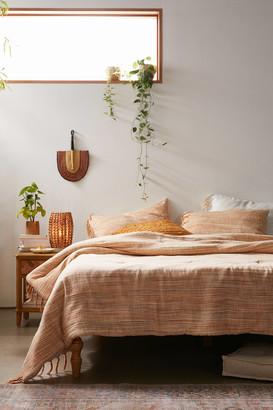 Urban Outfitters Space-Dye Cozy Slub Comforter