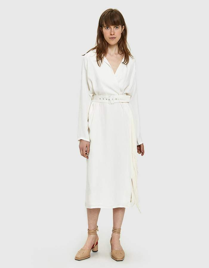 Rachel Comey Sunder Stripe Viscose Dress