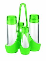 Guzzini Fratelli Vintage, Two-tone cruet set, SAN|PE|Glass