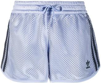 adidas Logo Patch Mesh Shorts