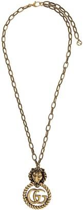 Gucci Interlocking G torchon necklace